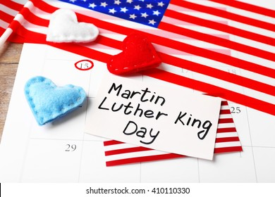 Martin Luther King Day celebration.