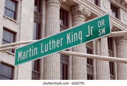 Martin Luther King Jr Drive, Atlanta.