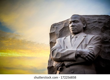 Martin Luther King  Jr Memorial. The statue memorial for Martin Luther King Jr. in West Potomac Park, Washington D.C..