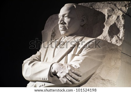 Martin Luther King Jr Monument Washington Stock Photo Edit Now