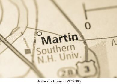 Martin. New Hampshire. USA