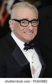 Martin Scorsese arriving for the BAFTA Film Awards 2012 at the Royal Opera House, Covent Garden, London. 12/02/2012  Picture by: Steve Vas / Featureflash