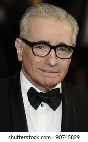 """Martin Scorsese arriving for the """"Hugo"""" Royal Gala Premiere at the Odeon Leicester square, London. 28/11/2011 Picture by: Alexandra Glen / Featureflash"""