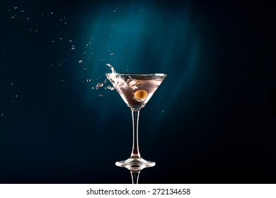 Martini, Cocktail, Glass.