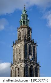 Martini toren in Groningen city