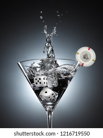Martini vodka coctail casino