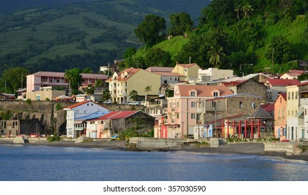 Martinique, the picturesque city of Fort de France in West Indies