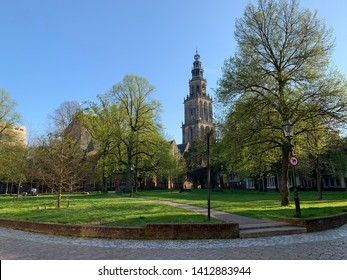 The Martinitoren is the biggest church tower in the city of Groningen. Located in the northwest corridor of the Grote Market.
