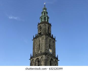 Martinitoren in Groningen The Netherlands