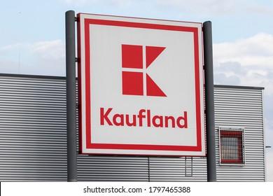 Martin/Slovakia July 20, 2020 Kaufland supermarket. Kaufland is a German hypermarket chain, part of the Schwarz Gruppe which also owns Lidl.