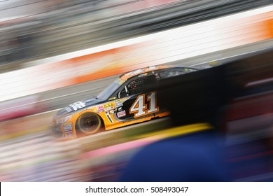 Martinsville, VA - Oct 30, 2016: Kurt Busch (41) races for the Goody's Fast Relief 500 at Martinsville Speedway in Martinsville, VA.