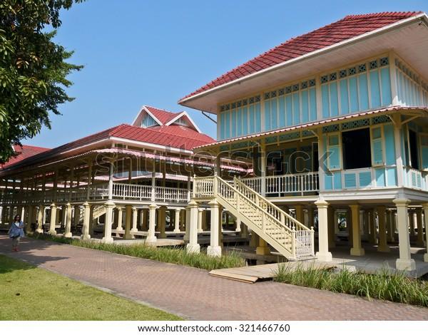 Maruekhathaiyawan Palace, Hua Hin, Thailand