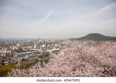 Marugame-shi, cityscape