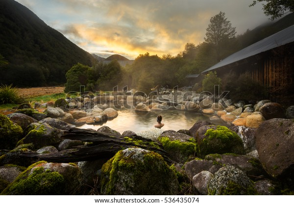 Maruia Hot Springs in New Zealand