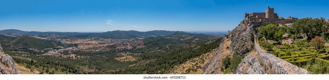 Marvao Castle Panorama II
