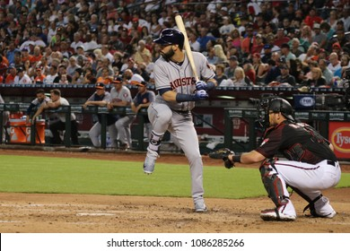Marwin Gonzalez  infielder for the Houston Astros at Chase Field in Phoenix,AZ USA  May 5,2018.