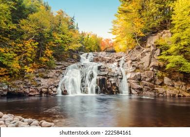 Mary Ann Falls (Highlands National Park, Cape Breton, Nova Scotia, Canada)