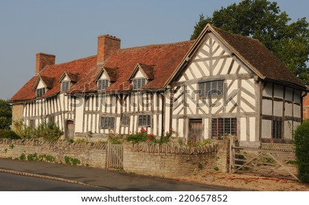 Mary Arden S House Mother Of William Shakespeare In Wilmcote Near Stratford