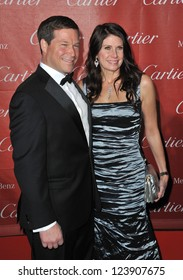Mary Bono Mack & husband at the Awards Gala for the 2013 Palm Springs International Film Festival. January 5, 2013  Palm Springs, CA Picture: Paul Smith