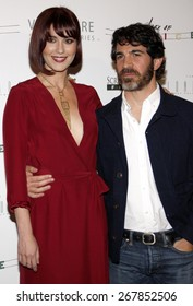 """Mary Elizabeth Winstead and Chris Messina at the Los Angeles premiere of """"Alex Of Venice"""" held at the London Hotel in Los Angeles, USA on April 8, 2015."""