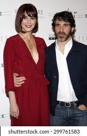 Mary Elizabeth Winstead and Chris Messina at the Los Angeles premiere of 'Alex of Venice' held at the London Hotel in West Hollywood, USA on April 8, 2015.