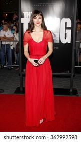 """Mary Elizabeth Winstead at the Los Angeles Premiere of """"The Thing"""" held at the Universal Studios in Hollywood, California, United States on October 10, 2011."""