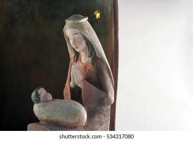 Mary and Jesus Christmas