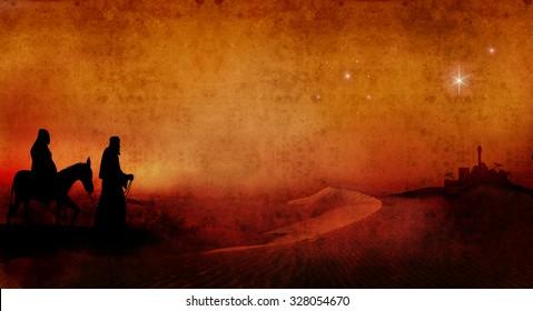 mary and joseph across desert 2
