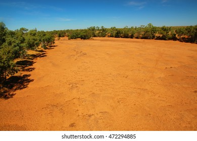Mary River in Australian outback