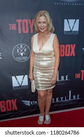 """Maryam Nagel attends  Skyline Entertainment's  """"The ToyBox"""" Los Angeles  Premiere at Laemmle's NoHo 7, North Hollywood, California on September 14th, 2018"""