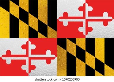Maryland Flag Beer