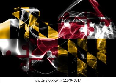 Maryland state smoke flag, United States Of America