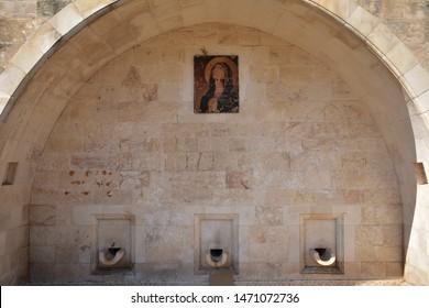 Marys Well in Nazareth Israel