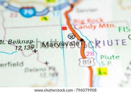 Marysvale Utah Map.Marysvale Utah Usa On Map Stock Photo Edit Now 796079908