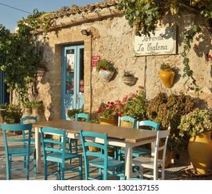 Marzamemi sicily summer 2018 typical restaurants