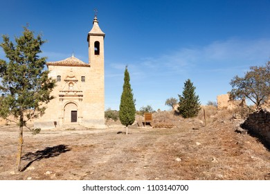Mas de Llaurador Village destroyed in the Spainsh Civil War