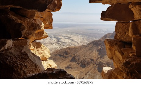 Masada is an ancient fortification in the Southern District of Israel situated on top of an isolated rock plateau. It is located on the eastern edge of the Judea Desert.