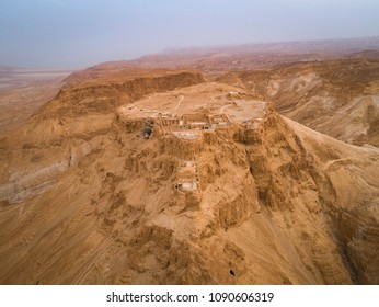Masada National PArk in the Dead Sea region of Israel,
