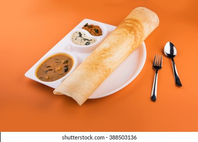 masala dosa,South Indian meal Set Dosa ,sambhar and coconut chutney, Dosa, South Indian snack