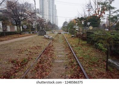 Masan train street