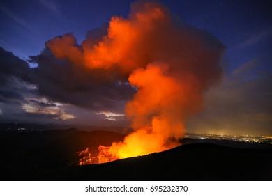 Masaya volcano Nicaragua