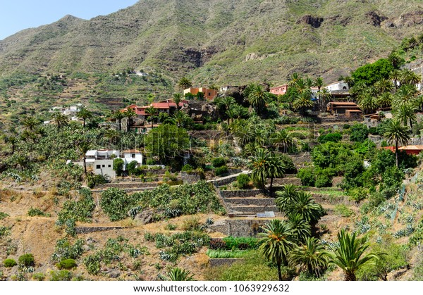 Masca city in Tenerife