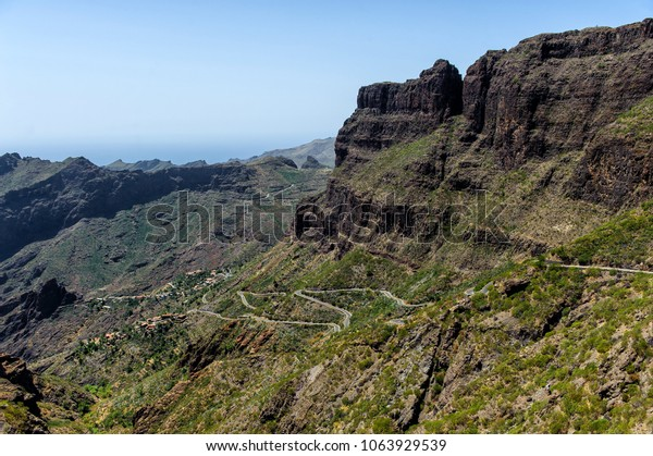 Masca Valley in Tenerife