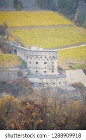 Maschikuli Tower of the Fortress Marienberg in Würzburg
