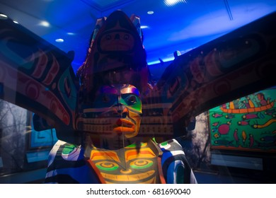 MASHANTUCKET, CONNECTICUT USA - JULY 14, 2017: The Mashantucket Pequot Museum and Research Center Mashantucket Connecticut, USA.
