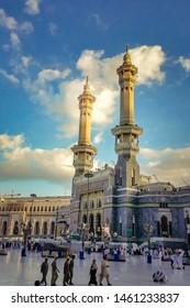 Masjid al Haram Makkah Masjid clicked at Makkah Saudi Arabia month of April 2nd 2019
