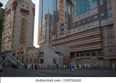 Masjid al-Jinn in Mecca. Mecca - Saudi Arabia: 27 August 2018