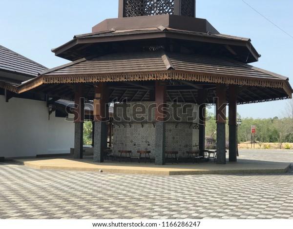Masjid Arrahman Pulau Gajah Kelantan This Buildings Landmarks Stock Image 1166286247