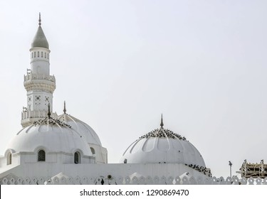 Masjid-e-Quba the first mosque in the history of Islam in Madina Munawara, Saudi Arabia