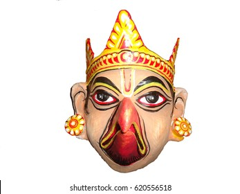 Mask of Majuli, Assam, India